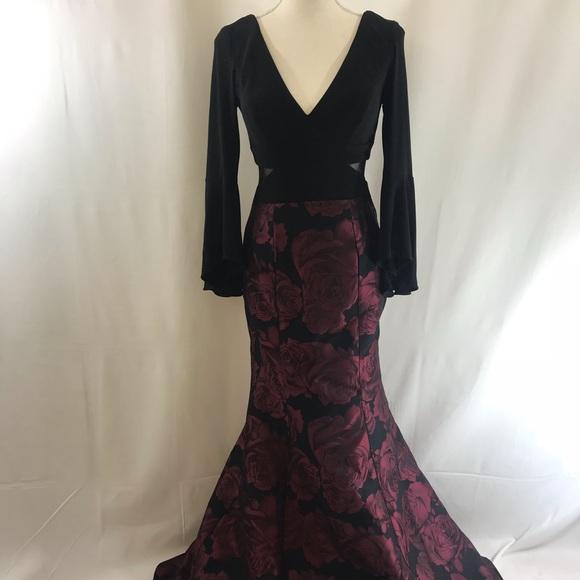 c8a15177 Xscape Dresses | Brocade Highlow Ballgown | Poshmark